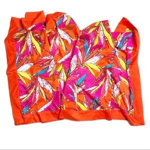 TRINA TURK Scarf Cotton Silk Blend